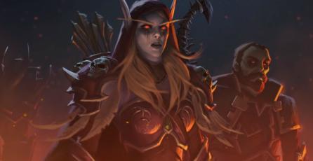 Sylvanas asesina inocentes elfos de la noche en el último corto de Warbringers