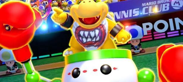 Bowser Jr. te causará menos problemas en <em>Mario Tennis Aces</em>