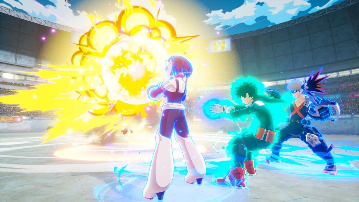 Ve las nuevas capturas de <em>My Hero One's Justice</em>