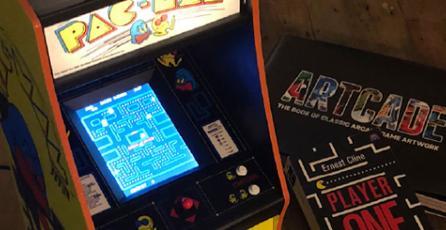 Anuncian réplica miniatura del arcade de <em>Pac-Man</em>