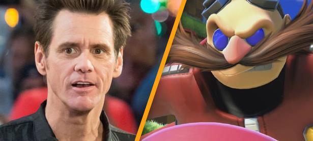 Jim Carrey confirma que dará su voz y movimientos a Doctor Eggman en la película de Sonic