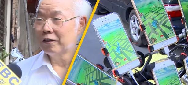 Con 70 años, taiwanés juega Pokémon GO! con 11 teléfonos