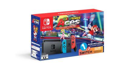 Nintendo lanzará nuevo bundle de Nintendo Switch y <em>Mario Tennis Aces</em>
