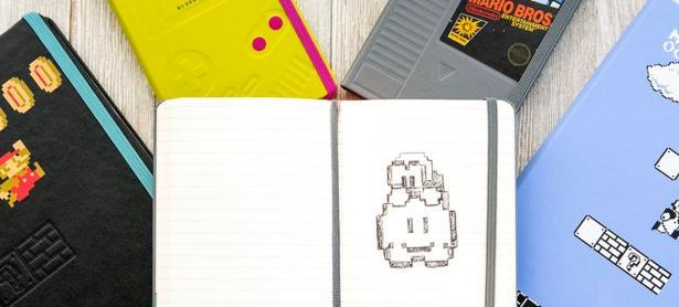 Moleskine presenta su nueva línea de libretas con diseño de <em>Super Mario Bros.</em>