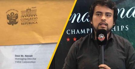 Congreso de Perú envía carta a Valve para levantar el baneo a jugadores de DOTA 2