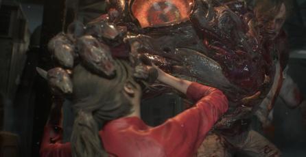 Así se ve la espeluznante mutación de William Birkin en <em>Resident Evil 2</em>