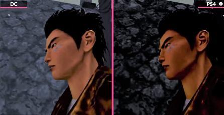 Así es la diferencia entre los Shenmue originales de Dreamcast y su port en PS4