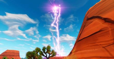 Un gigantesco rayo invoca un misterioso cubo en Fortnite y comienza la cuenta regresiva