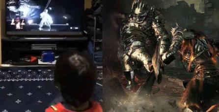 """Niño de 5 años es un """"prodigio"""" en Dark Souls 3"""