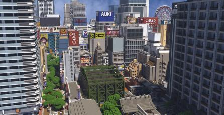 Fanático lleva recreando Japón en Minecraft desde el 2015 y no para