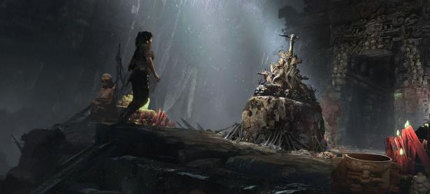 Mira a Lara Croft resolviendo acertijos en <em>Shadow of the Tomb Raider</em>
