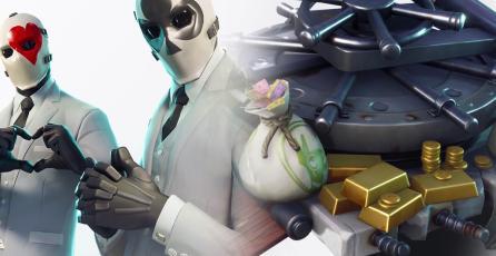 Fortnite se vestirá de terno y corbata para realizar atracos en el juego