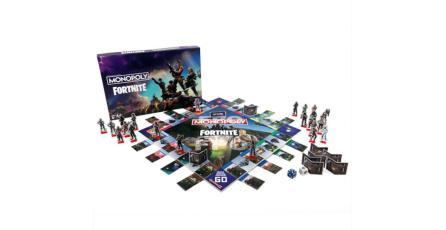 Checa el Monopoly de <em>Fortnite</em> que lanzará Hasbro