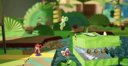 El nuevo juego de Yoshi para Switch tendría por nombre <em>Yoshi's Crafted World</em>