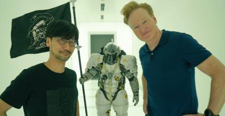 """Conan O'Brien está en Japón y le """"pidió"""" trabajo a Hideo Kojima"""