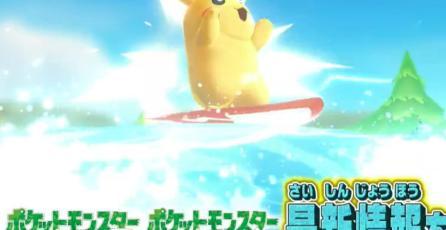 Surfing Pikachu volverá en <em>Pokémon Let's Go, Pikachu! &amp; Let's Go, Eevee!</em>