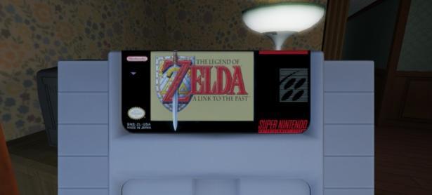 Cartuchos de SNES se pueden encontrar en Gone Home para Switch