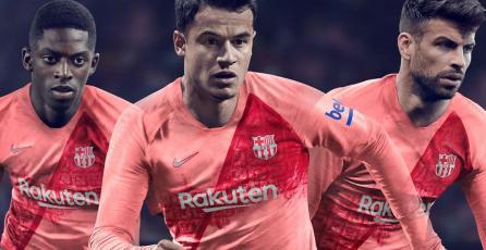 El FC Barcelona reveló su nuevo uniforme en <em>PES 2019</em>