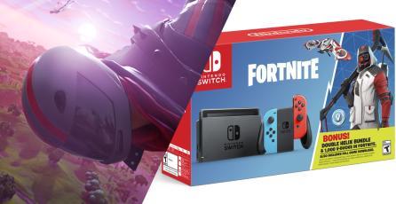Nintendo da luz verde a bundle especial de Switch con Fortnite