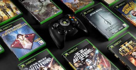 Publicación de Xbox UK también se unió a la tendencia retro