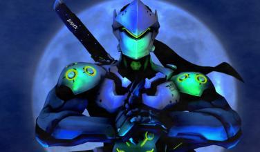 Overwatch lanzará a la venta réplica de la espada de Genji con luces LED