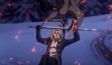 Así se ve al completo la primera pelea de la segunda temporada de Castlevania