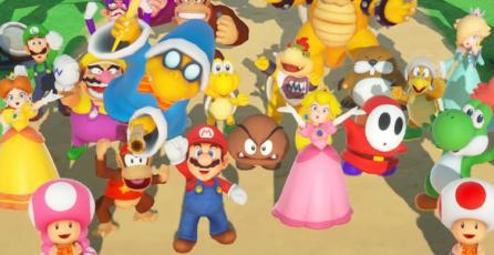 Checa el trailer de lanzamiento de <em>Super Mario Party</em> para Switch