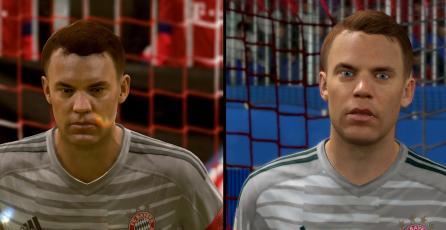 Las diferencias gráficas entre la versión de Switch y PS4 de FIFA 19