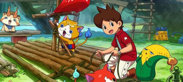 Nintendo confirma la llegada de <em>Yo-kai Watch 3</em> a Occidente
