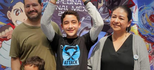 Ya sabemos quien representará a México en el campeonato mundial de Beyblade