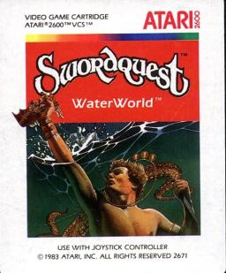 Swordquest: Waterworld