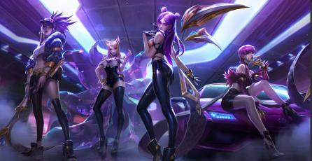 Pentakill terminó su gira, llegó K/DA a League of Legends en pleno auge del K-pop