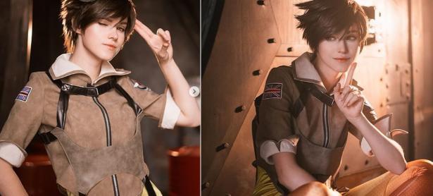 Esta cosplayer tiene la mejor versión de Tracer que hayas visto nunca