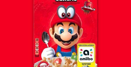 ¡El cereal de <em>Super Mario</em> ya está a la venta en México!