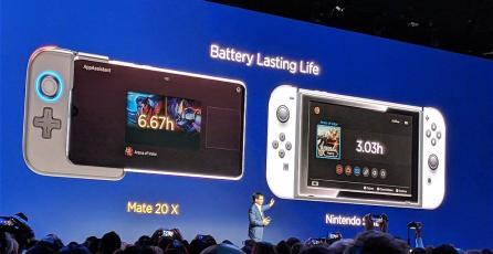 Huawei reveló el Mate20X que busca destronar a Nintendo Switch
