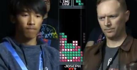 Joven de 16 años le ganó al 7 veces campeón mundial de Tetris