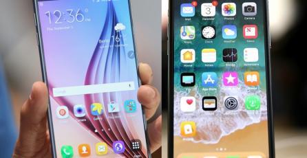 Influencer de <em>Samsung</em> es demandada por aparecer con un <em>iPhone X</em> en televisión