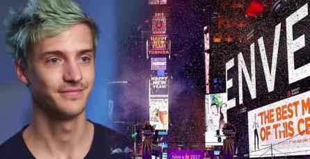 El show de año nuevo en <em>Times Square</em> tendrá a Ninja jugando <em>Fortnite</em> este año