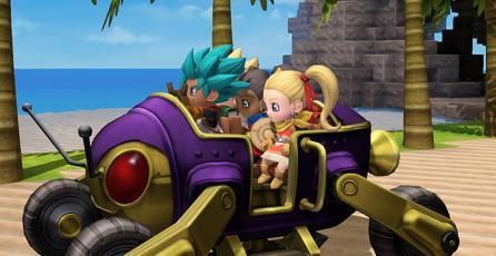 Habrá vehículos en el multiplayer online de <em>Dragon Quest Builders 2</em>