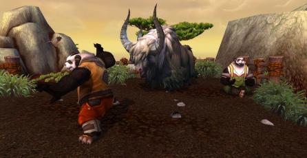 Fanático de World of Warcraft llega a LvL 120 recogiendo sólo flores con un Pandaren neutral