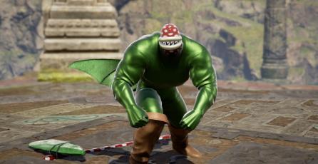 """Recrean a la """"Planta Piraña"""" de <em>Super Smash Bros. Ultimate</em> en SoulCalibur VI"""