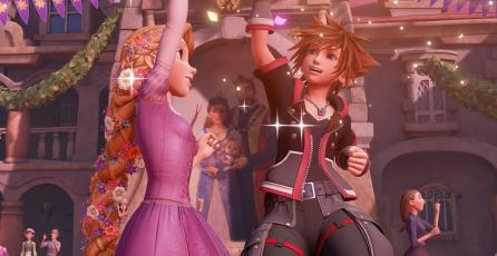Explora el mundo de <em>Tangled</em> en el nuevo trailer de <em>Kingdom Hearts III</em>