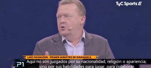 """""""<em>No pierden su tiempo, son deportistas de verdad</em>"""", dijo el Primer Ministro de Dinamarca"""