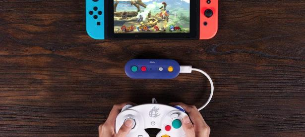 Estrenarán adaptador inalámbrico para el control de Gamecube en Smash Bros. de Switch