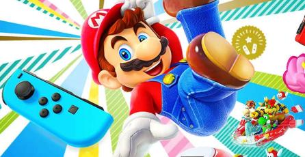 El bundle de <em>Super Mario Party</em> con Joy-Con llegará a América