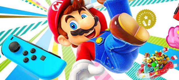 El bundle de <em>Super Mario Party</em> con Joy-Con llegará a América