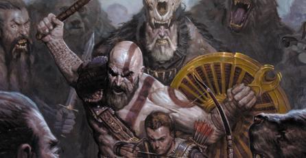 Checa unas de las primeras páginas del cómic de <em>God of War</em>