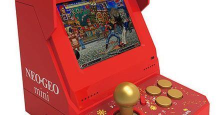 Habrá una edición navideña del Neo Geo Mini con 48 juegos