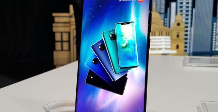 Los smartphones de la serie Mate 20 de Huawei ya están disponibles en México
