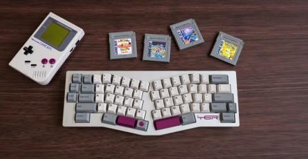 Crean teclado al estilo Game Boy